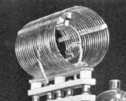 Transmitter tank inductor