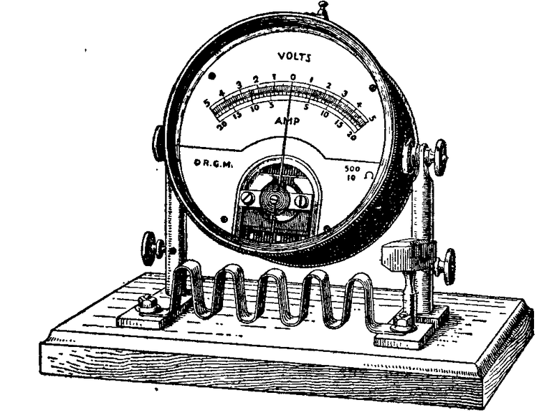 ammeter in a circuit